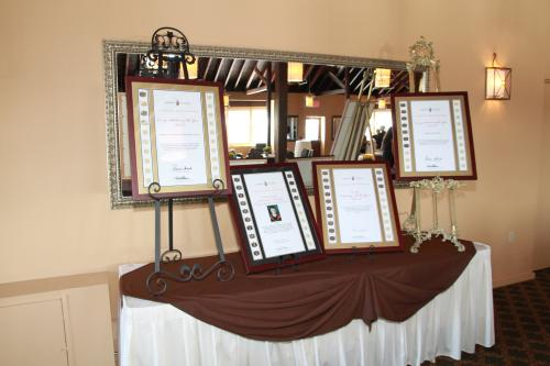 Photo of co-op awards