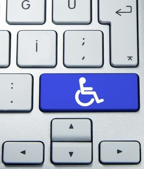 Accessibility keyboard button