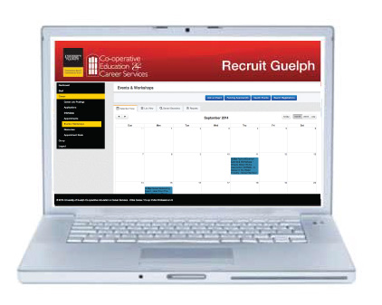 Image of Recruit Guelph website